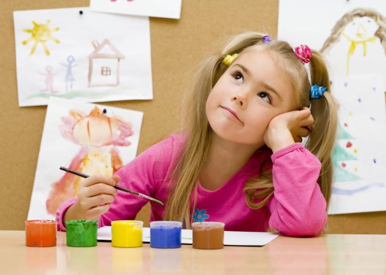 Фотография с занятия творческая мастерская